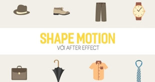 Khóa học Shape motion với After effect