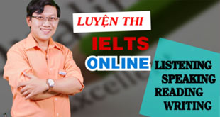 Khóa học Luyện thi IELTS online: listening, speaking, reading, writing