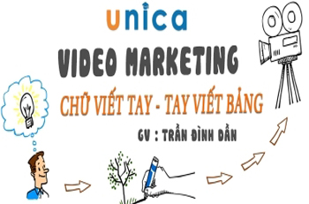 Video Marketing chữ viết tay - Tay viết bảng
